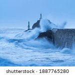 Cantabrian Sea Swell In The...