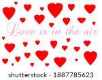 valentines day. valentines day... | Shutterstock . vector #1887785623