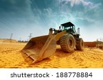 heavy bulldozer | Shutterstock . vector #188778884