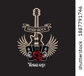 hard rock tune up vector   Shutterstock .eps vector #1887791746