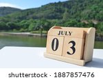 July 3  Date Design With Number ...