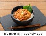 Japanese Food  Bowl Of Rice...