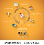 timeline infographic design...