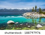 Sand Harbor Beach  Lake Tahoe