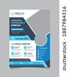 Dental Flyer Template Design....