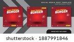 flyer or social media post...   Shutterstock .eps vector #1887991846