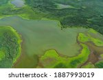 Aerial View Of A Nature Reserve ...