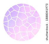 round mosaic watercolor... | Shutterstock . vector #1888041973