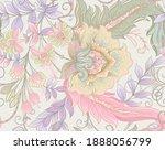 Seamless Pattern With Stylized...
