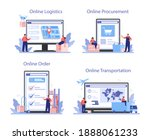 supply online service or... | Shutterstock .eps vector #1888061233