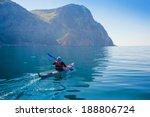 kayak. people kayaking in the... | Shutterstock . vector #188806724