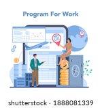offshore specialist online... | Shutterstock .eps vector #1888081339