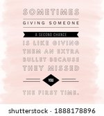 inspirational motivation quote...   Shutterstock . vector #1888178896
