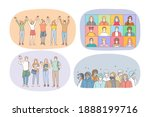 friendship  work  study and... | Shutterstock .eps vector #1888199716