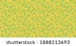 spring leaves vector textured... | Shutterstock .eps vector #1888213693