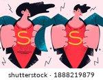 business team  superhero ...   Shutterstock .eps vector #1888219879
