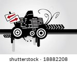 urban landscape  vector | Shutterstock .eps vector #18882208