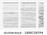 hand drawn doodle brush lines.... | Shutterstock . vector #1888238596
