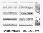 hand drawn doodle brush lines....   Shutterstock . vector #1888238596
