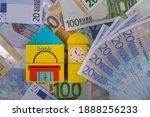 Five Banknotes Worth 20 Euros...