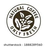 coffee stamp with text and...   Shutterstock .eps vector #1888289560