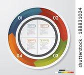 design clean number banners...   Shutterstock .eps vector #188831024