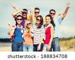 summer  holidays  vacation ... | Shutterstock . vector #188834708