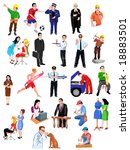 professions | Shutterstock .eps vector #18883501