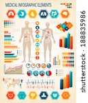 medical infographics elements.... | Shutterstock .eps vector #188835986