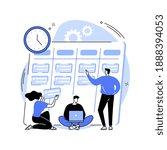 task management abstract...   Shutterstock .eps vector #1888394053
