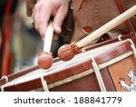 Clubs Snare Drum Medieval Battle