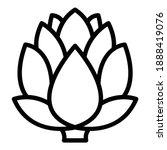 diet artichoke icon. outline... | Shutterstock .eps vector #1888419076