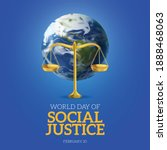 World Day Of Social Justice...