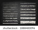 set of chalk strokes. hand...   Shutterstock .eps vector #1888483096