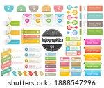 infographic headline design for ... | Shutterstock .eps vector #1888547296