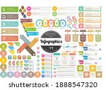 infographic headline design for ... | Shutterstock .eps vector #1888547320