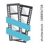 cinema design over white... | Shutterstock .eps vector #188856728