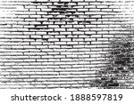 vector distressed overlay brick ... | Shutterstock .eps vector #1888597819