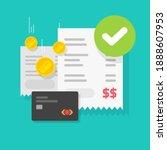payment transaction success... | Shutterstock .eps vector #1888607953