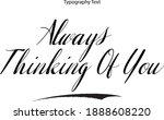 beautiful italic calligraphy...   Shutterstock .eps vector #1888608220