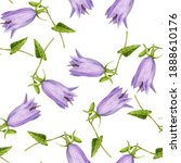 seamless pattern with... | Shutterstock . vector #1888610176