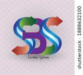 letter sbs logo icon design...