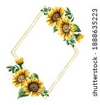 Sunflower Decorative Frame ...