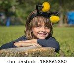 Cute Smiling Little Girl...