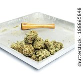 marijuana  | Shutterstock . vector #188865848