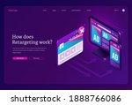 retargeting or remarketing ad... | Shutterstock .eps vector #1888766086