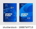 poster design with loop element ... | Shutterstock .eps vector #1888769713
