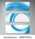 a set of modern vector banners... | Shutterstock .eps vector #188878334