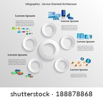 technology infographics  ... | Shutterstock .eps vector #188878868