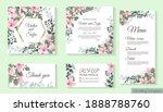 vector template for wedding... | Shutterstock .eps vector #1888788760